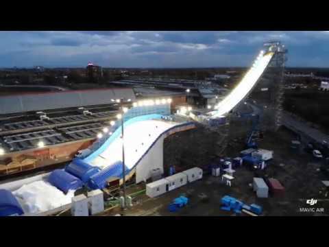 Skipass Big Air 2018 - Getting ready