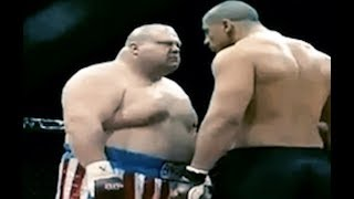 FATTEST Boxer DESTROYS MMA BODYBUILDING SUPERFIGHTER