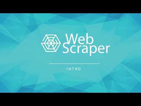 Web Scraper Tutorials