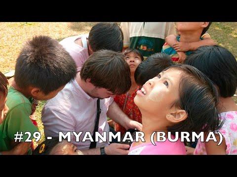 (#29 🇲🇲) MYANMAR (BURMA) - Tom goes to 100 countries in 4k UHD