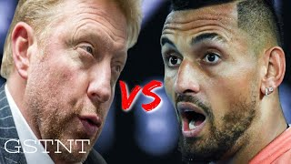 Nick Kyrgios Argues With Boris Becker About Alexander Zverev Party Controversy
