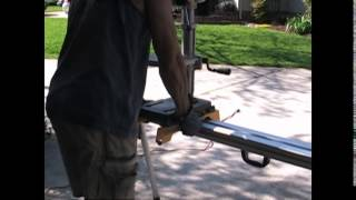 Review Of The Dwx723 Heavy Duty Miter Saw Stand