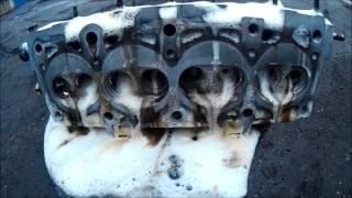 Как помыть двигатель?  Тестируем самодельный