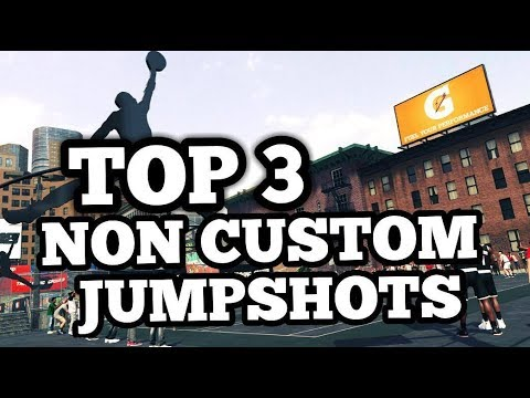 NBA 2K18 TOP 3 BEST NON CUSTOM JUMPSHOTS IN THE GAME FOR STRAIGHT GREENS!!!!