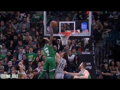 Jaylen Brown Highlights vs San Antonio Spurs (15 pts, 5 reb, 2 ast)