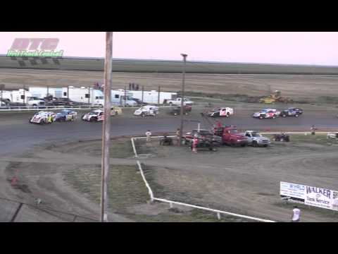 IMCA Modified A Feature Wakeeney Speedway 7 27 14