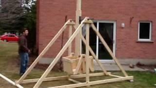 Notre Trebuchet En Construction