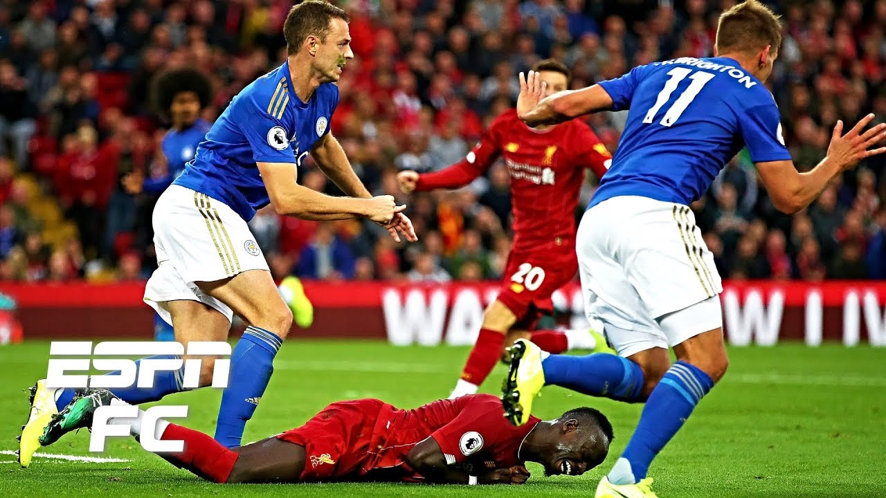 Liverpool's Sadio Mane did not deserve a penalty vs. Leicester - Frank Leboeuf | Premier League
