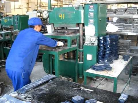 Sole Molding Operations Youtube