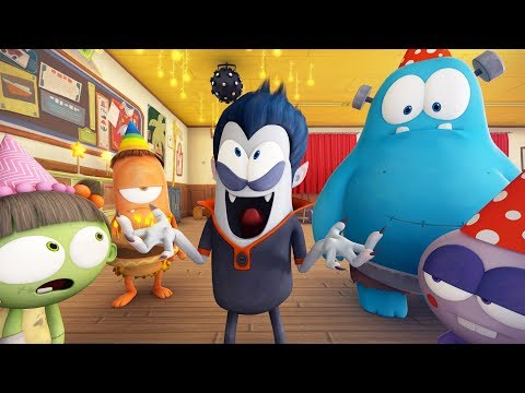 Spookiz | Birthday Party | 스푸키즈 | Funny Zombie Cartoon | Kids Cartoons | Videos For Kids