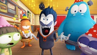 Spookiz | Birthday Party | 스푸키즈 | Funny Zombie Cartoon | Kids Cartoons | Videos for Kids