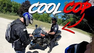 ANGRY & COOL COPS vs BIKERS | POLICE vs MOTORCYCLE  |  [ Episode 132]