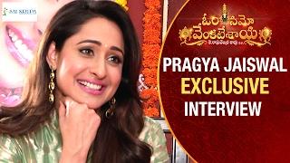 Pragya Jaiswal Reveals her Love for Telugu Cinema | Om Namo Venkatesaya Movie Interview