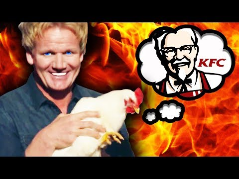 TOP 10 GORDON RAMSAY MOUTH WATERING CHICKEN MOMENTS!