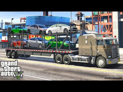 GTA 5 MOD#217 LET'S GO TO WORK!! (GTA 5 REAL LIFE MOD)