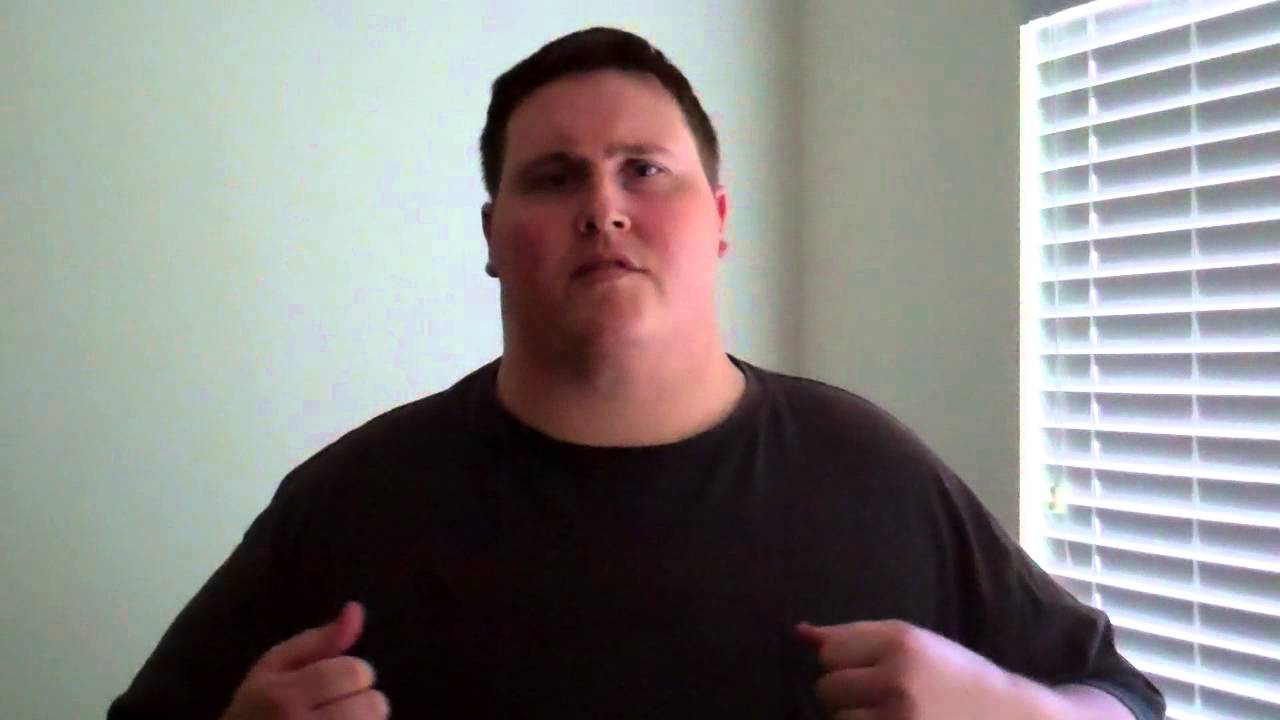 Losing weight with David 650 pound Virgin