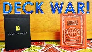 Deck War - Charity Water VS Animal Kingdom [HD]