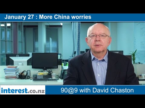 90 seconds @ 9am : More China worries