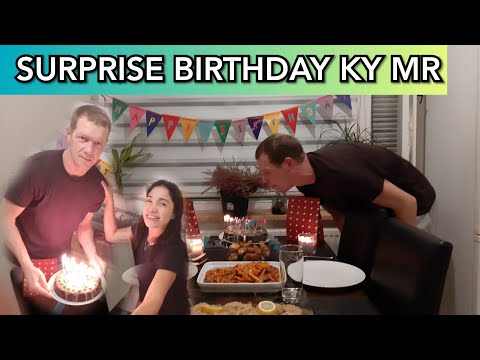 SURPRISE BIRTHDAY KY HUBBY+💗REACTION NIYA:||Filipina Foreigner HUSBAND|ONLINE Dating Site