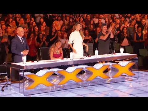 Golden Buzzer Howie Mandel Sends V Unbeatable To The Finals