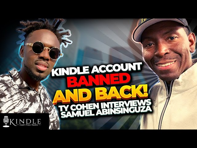 He Got his Amazon Kindle KDP Publishing Account BANNED and back! From Making $10,500.00 to ZERO