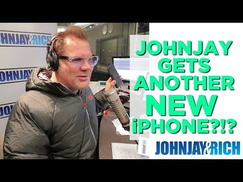 In-Studio Videos - Johnjay Got ANOTHER New iPhone...
