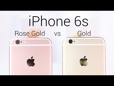 Iphone 6s Rose Gold Or Gold Youtube