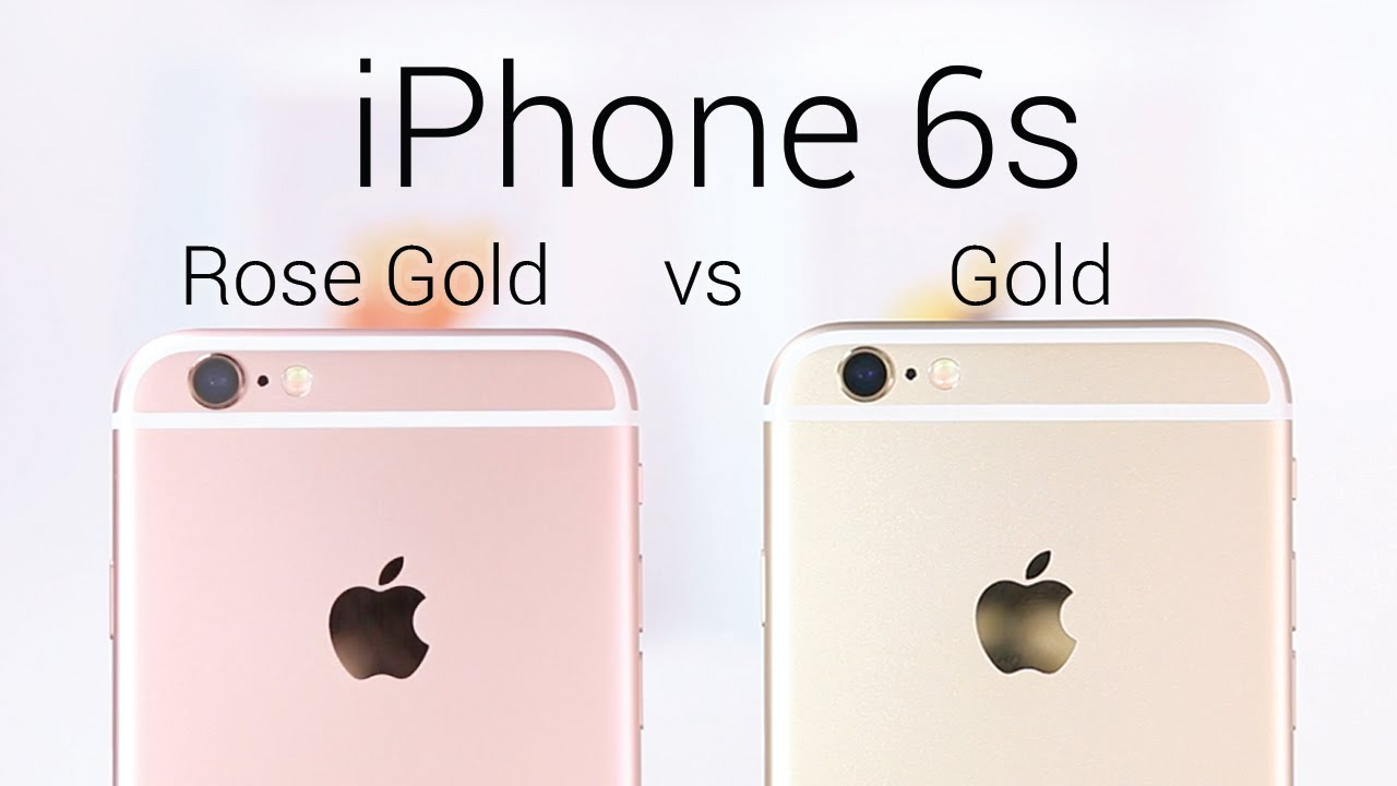 IPhone 6s Rose Gold Or