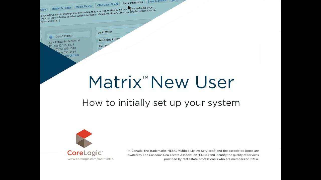 Ottawa Real Estate Board - Matrix Support
