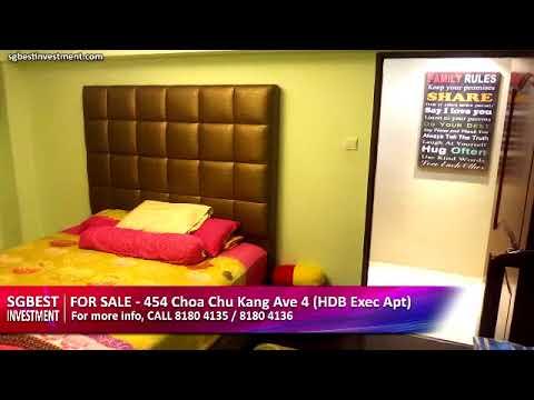 For Sale - 454 Choa Chu Kang Avenue 4 (HDB Executive Apartment)