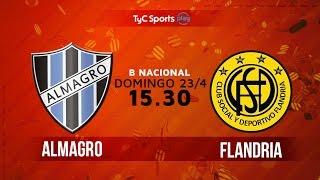 Almagro vs Flandria full match