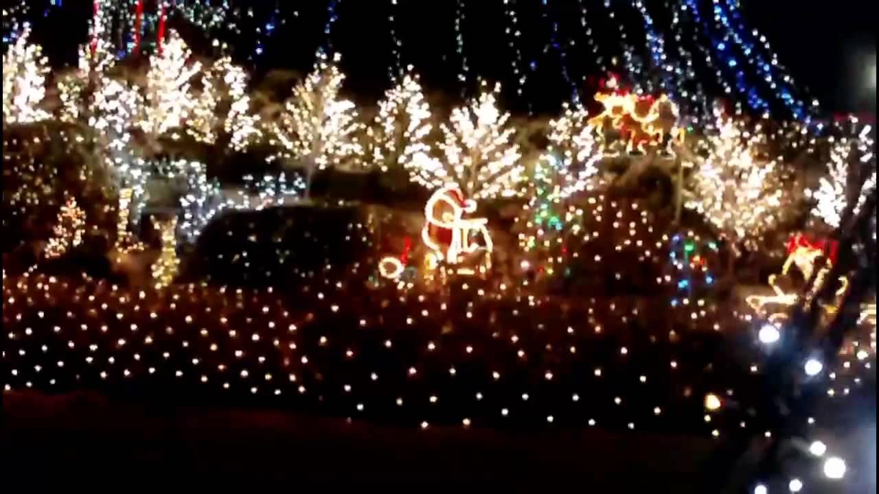 Neue Weihnachtslichter Hannover / X-Mas Haus Calle (über 420 - YouTube