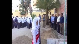 قناة السويس الجديدة  أول حصة فى مدارس الاسماعيلية 2014
