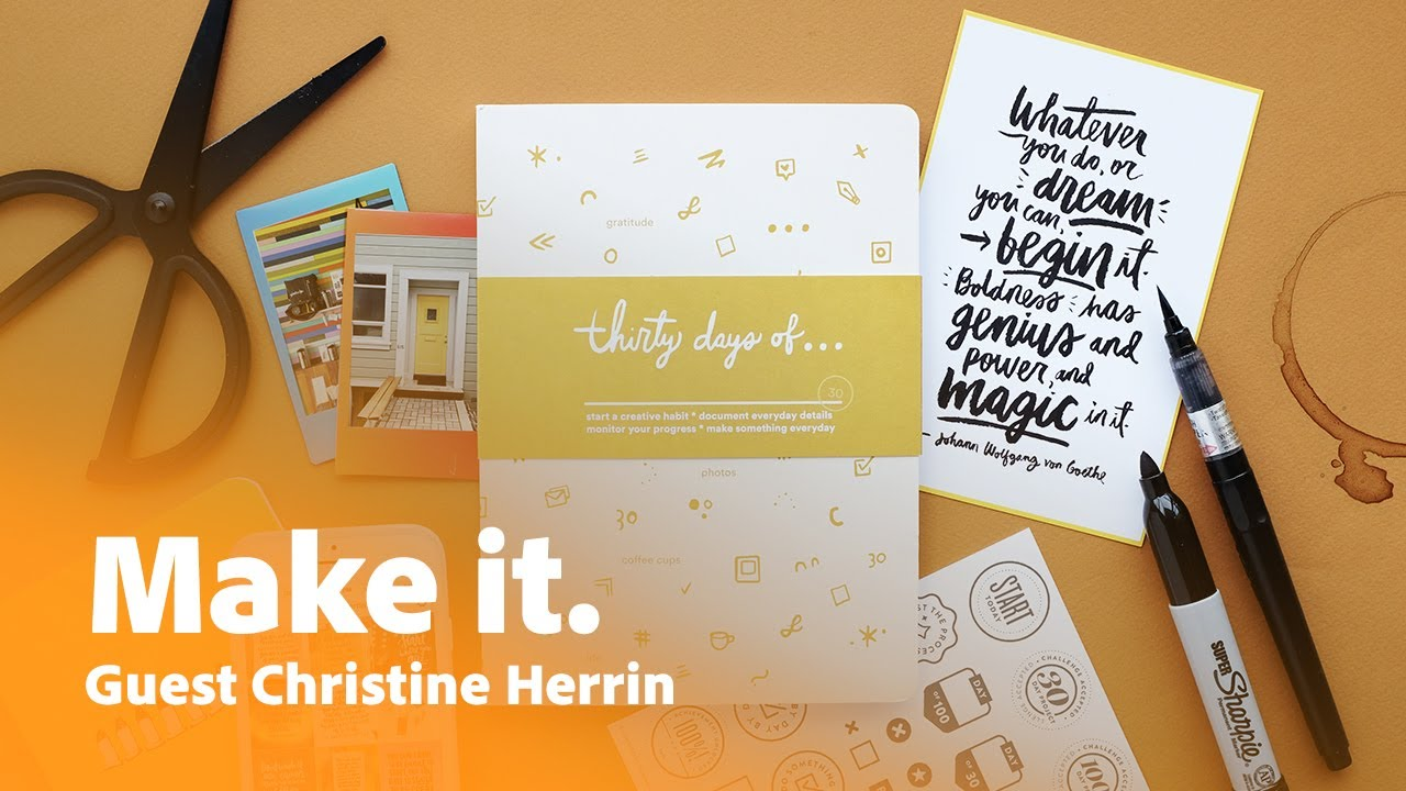 Christine Herrin: How to Go from Hand Lettering to Digital | Adobe Creative Cloud