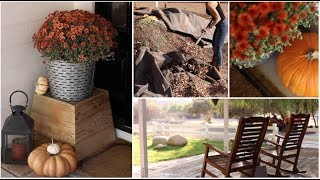 Fall Outdoor Chores & Decor