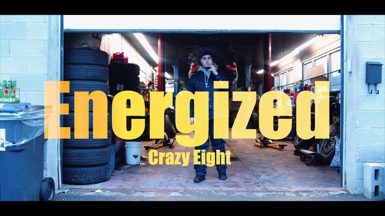 Crazy Eight - Energized (Official Music Video)
