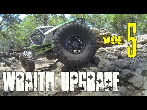 Upgrade your Axial Wraith vol 5! - DMG stiffy kit install and VP Currie RockJock axles