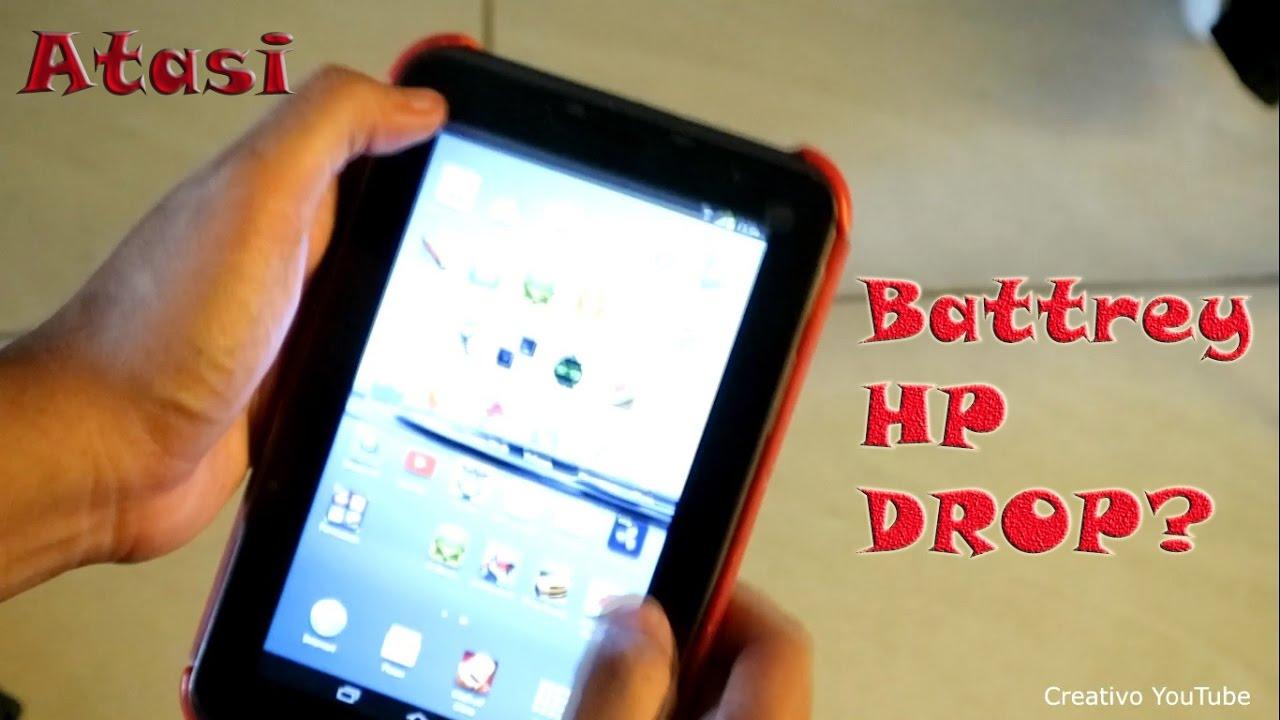 Cara Memperbaiki Baterai Hp Android Tab Yang Drop Youtube