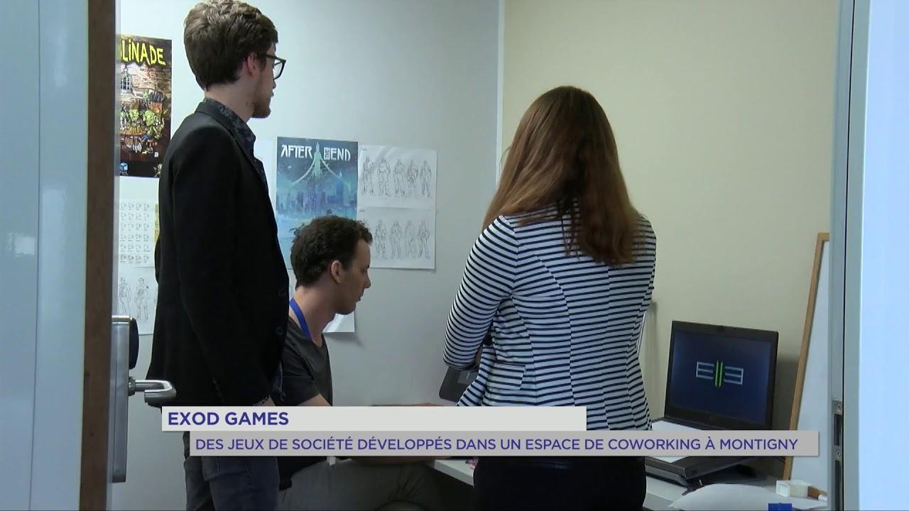 Exod Games : Des jeux de société développés dans un espace de coworking à Montigny