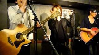 H.23.02.15 アロエルート&阿久のぶひろ 2マンライブ at cafe & bar B-1...