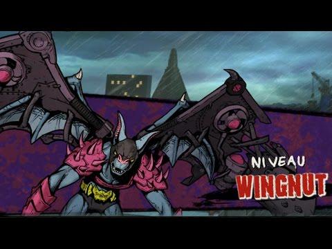 Les Tortues Ninja : Des mutants à Manhattan. Episode 6 : Wingnut [+boss secret]