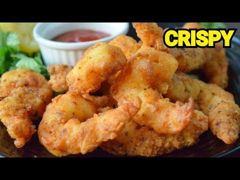 CRISPY PRAWN FRIED Original Restaurant Recipe    Fried Shrimp by (YES I CAN COOK) #PrawnTempura