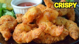 CRISPY PRAWN FRIED Original Restaurant Recipe  Fried Shrimp by (YES I CAN COOK) #PrawnTempura