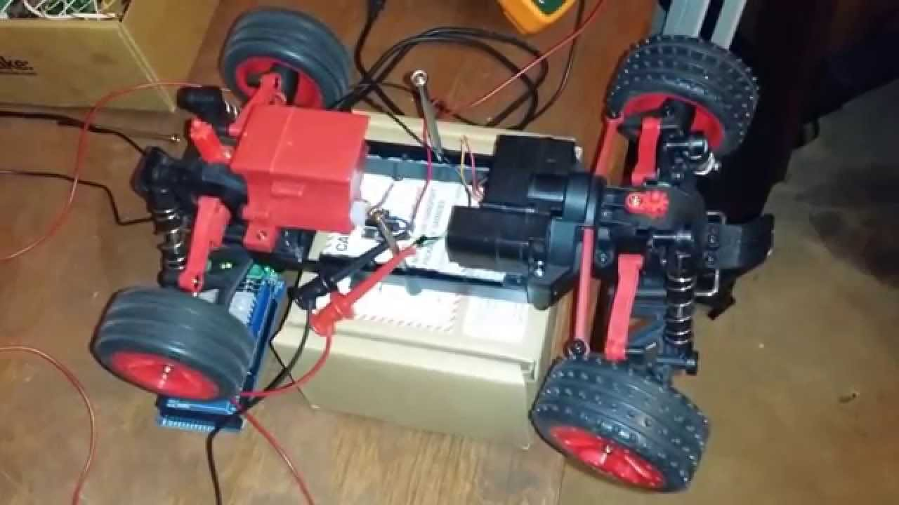 Individual motor control with seeeduino motor shield v2.0