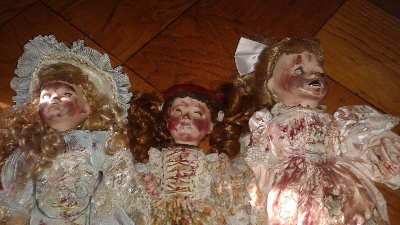 D.I.Y Scary Porcelain Dolls!!