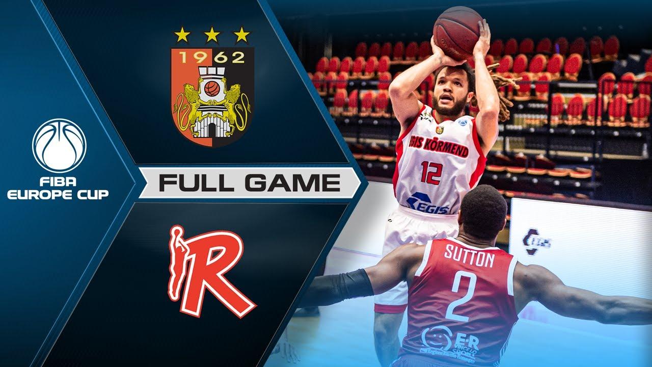 Egis Kormend v UNAHOTELS Reggio Emilia | Full Game - FIBA Europe Cup 2020-21