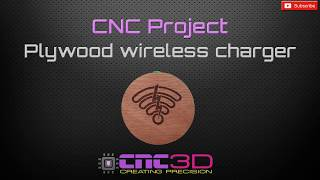 CNC Project - Marine Ply wireless phone charger