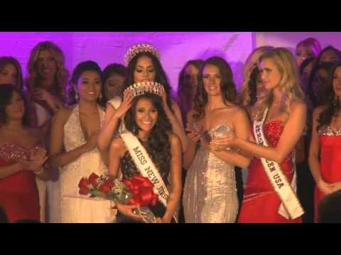 Crowning Moment Miss New Jersey USA 2014