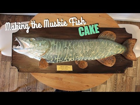 Making a Muskie Fish
