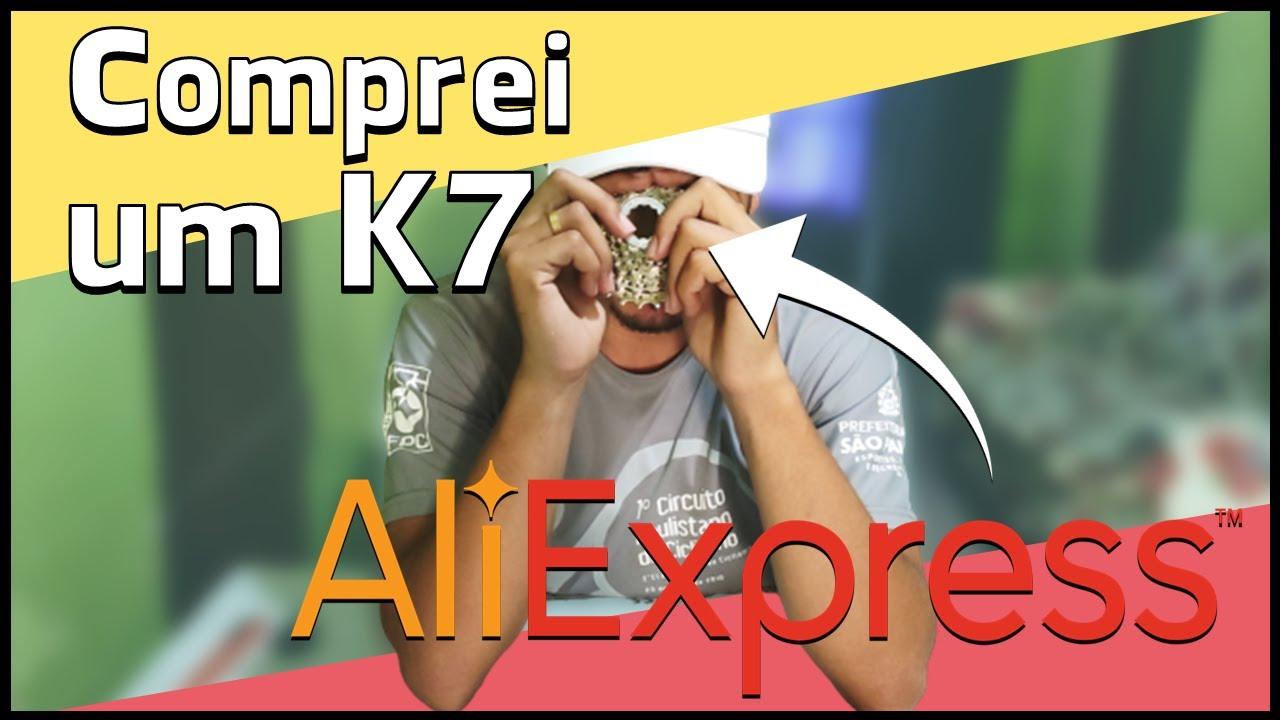 Cassete (K7) Shimano 8 velocidades para bicicleta de estrada | Comprei no AliExpress - Unboxing